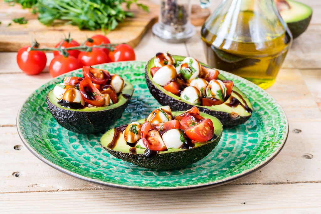 Caprese Stuffed Avocados Recipe