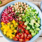 Chickpea + Tomato + Avocado Salad