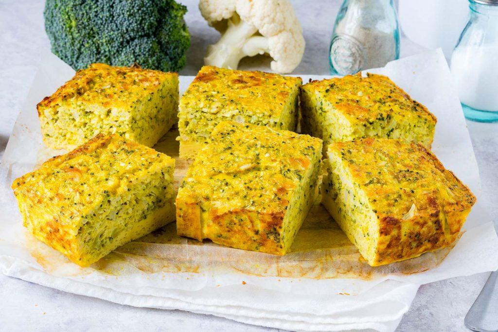 Broccoli Cauliflower Frittata Recipe