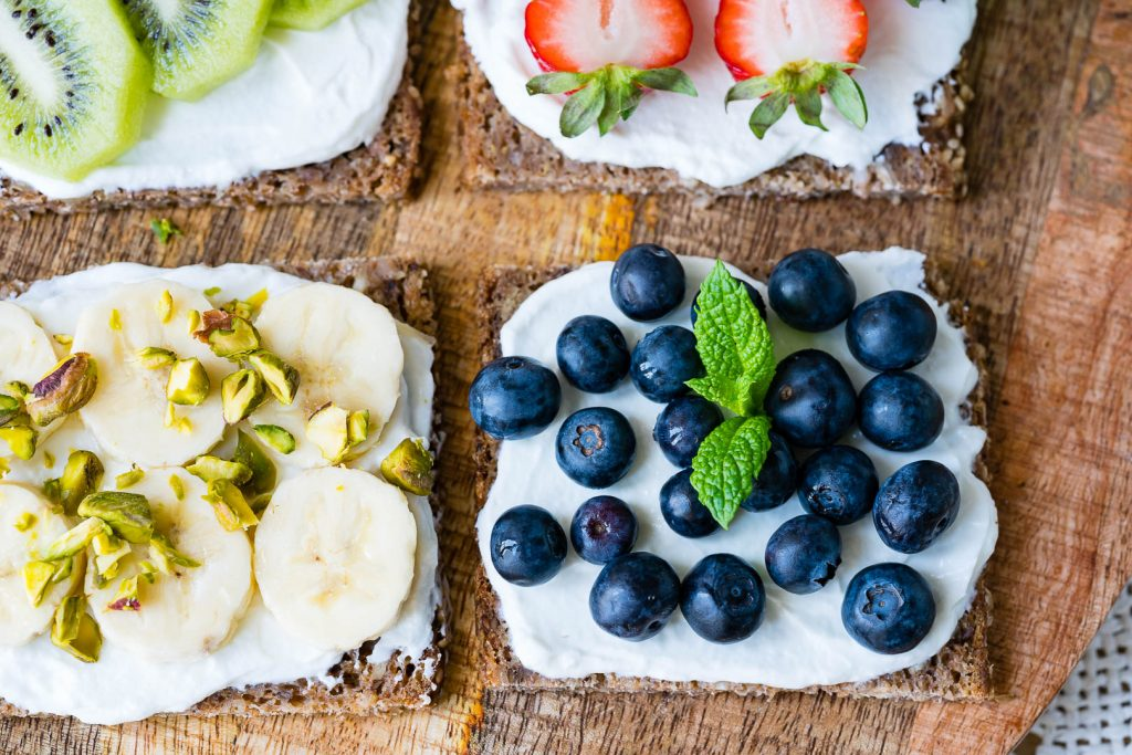 Fruit Ricotta Toast Recipe
