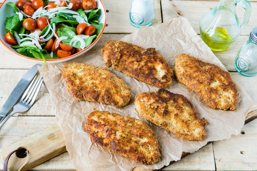 Crispy Chicken Cutlets Recipe