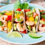 CleanFoodCrush Shrimp Fajitas with Avocado