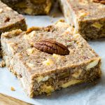 Eat Clean Healthy Apple Pie Energy Bars