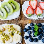 CleanFoodCrush Fruit and Ricotta Toast