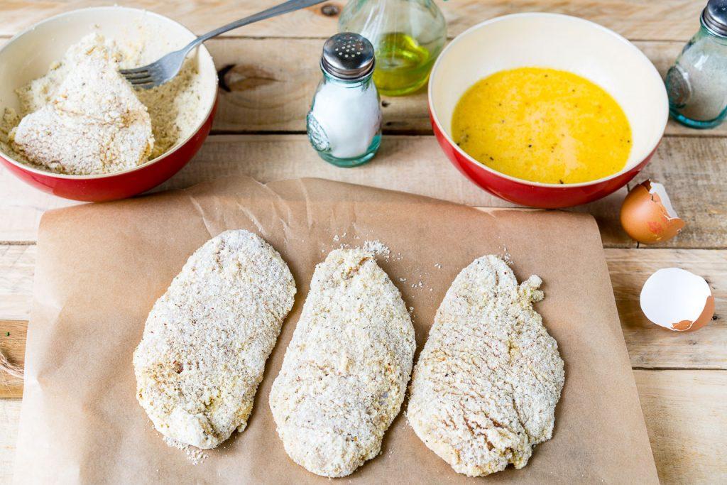 Gluten Free Crispy Chicken Cutlets