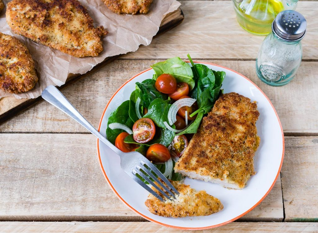 Gluten and Grain Free Crispy Chicken Cutlets