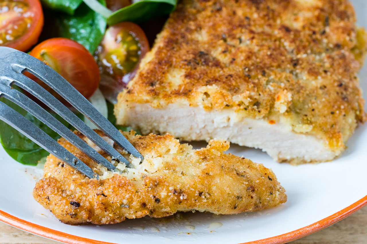 Grain Free Crispy Chicken Cutlets