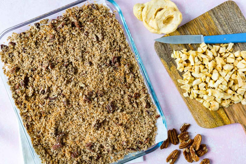 Apple Pie Energy Bars Dessert