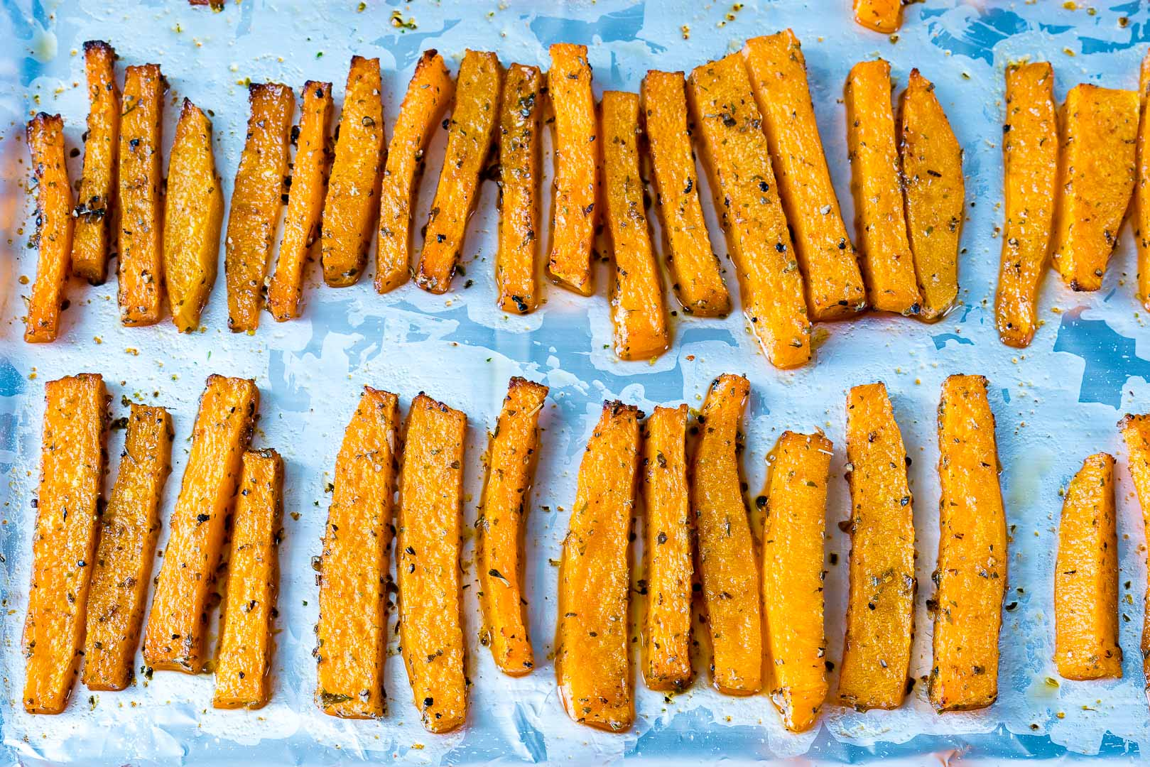 Healthy Baked Butternut Squash Fries