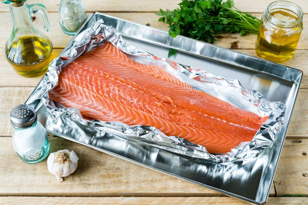 Honey Garlic Lime Salmon Recipe Instructions