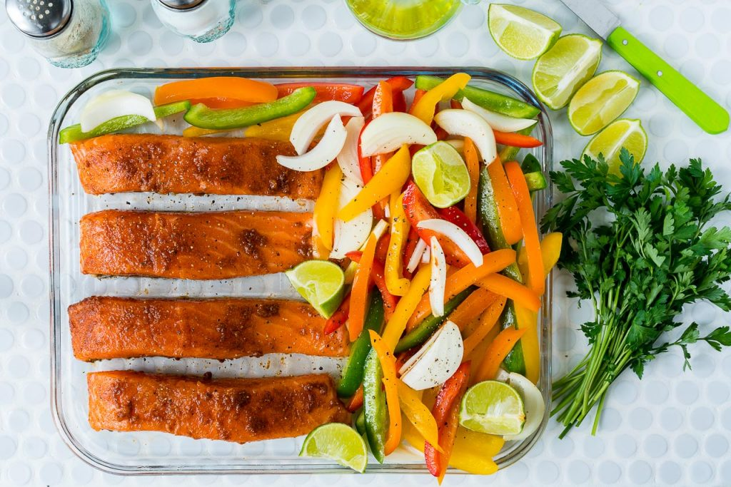 Salmon Fajitas Dinner Ideas