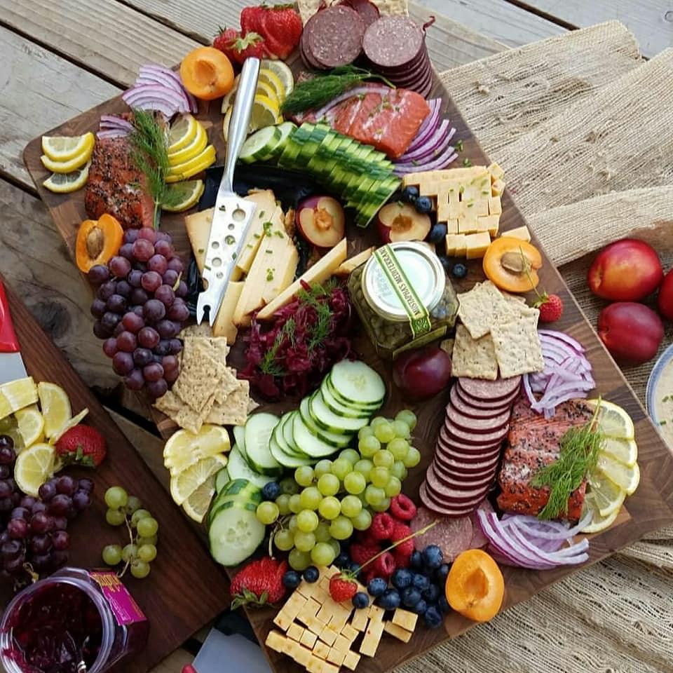 Gorgeous Summertime Picnic Platter