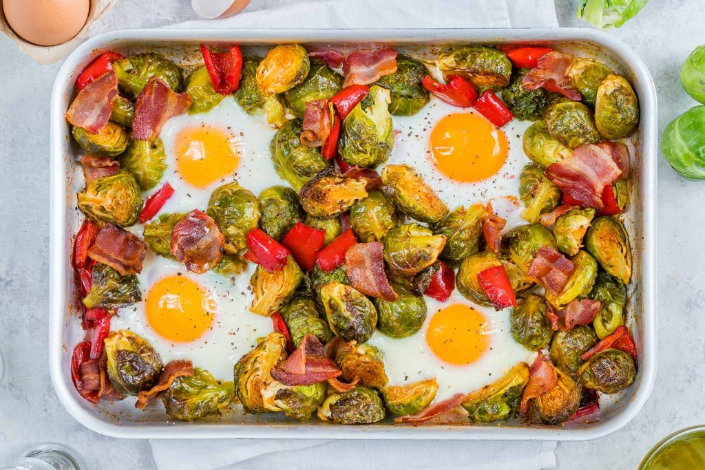 Brussels Sprouts Eggs Bacon Recipe