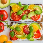 CleanFoodCrush Avocado + Heirloom Tomato Toast