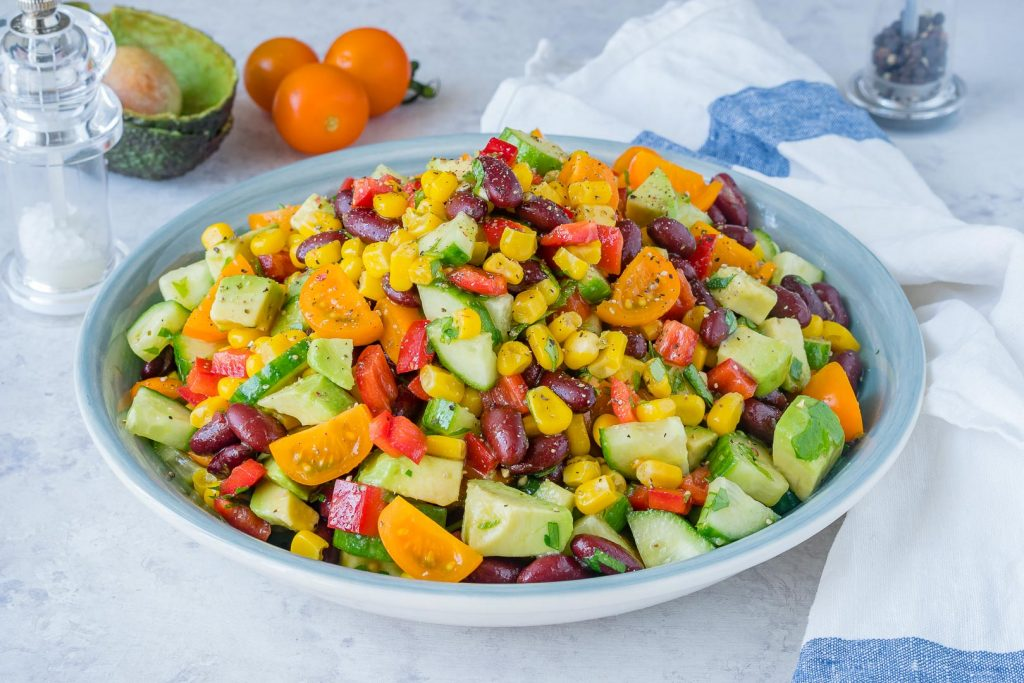 Quick sweet spicy summer salad is super yummy and clean eating sprout emoji clapping emoji sweet spicy summer salad recipe instructions forumfinder Choice Image