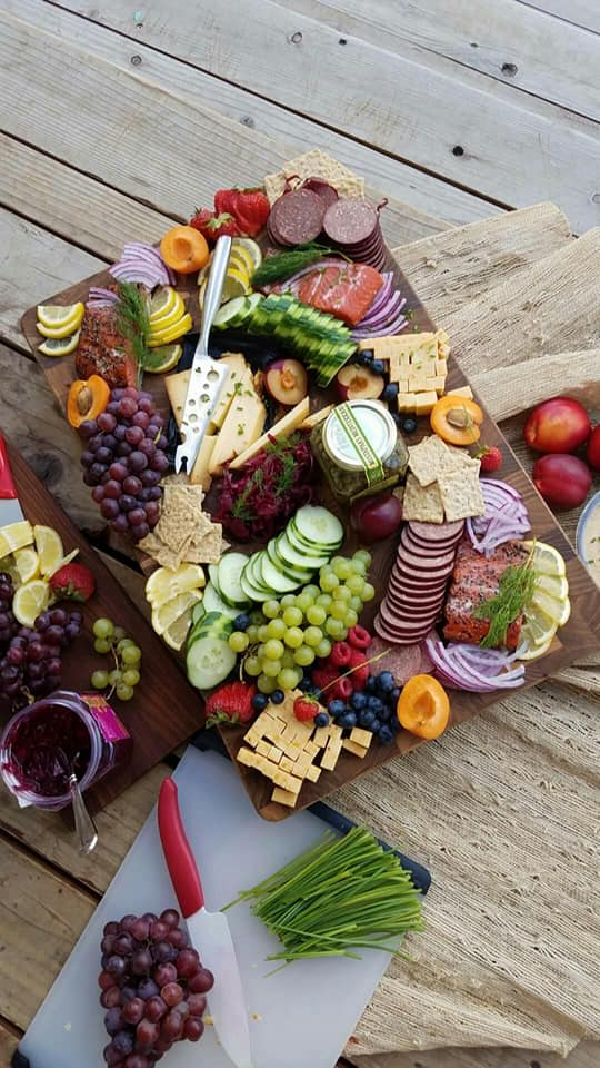 Create Your Own Summertime Picnic Platter