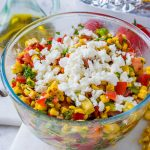Delicious Grilled Sweetcorn Salsa
