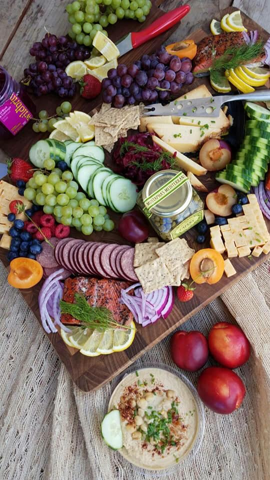 Clean Food Summertime Picnic Platter