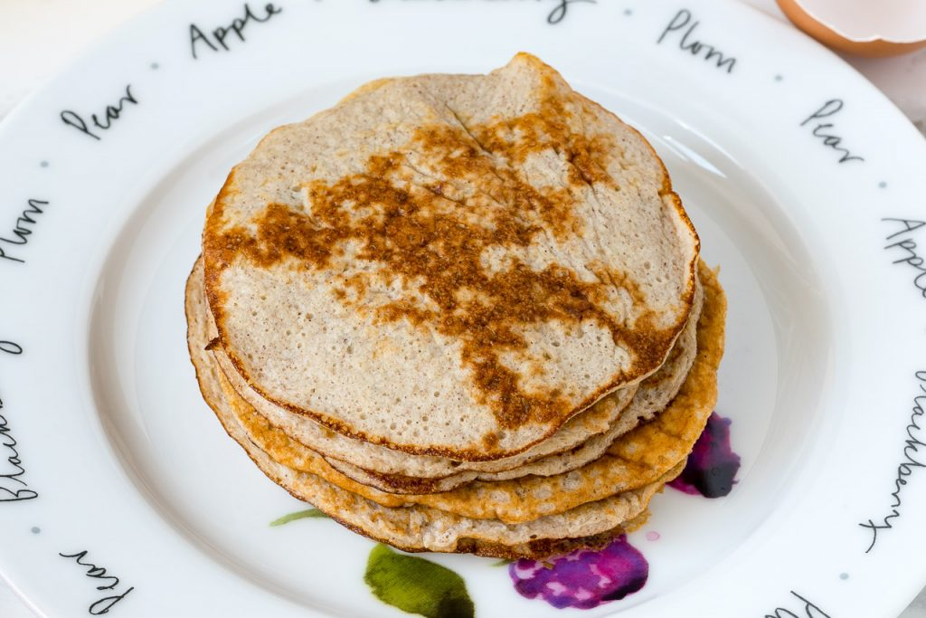 All Natural Banana Pancakes Recipe