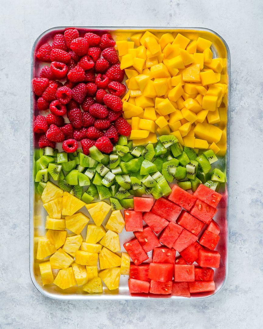 Eat Clean Homemade Fresh Fruit Summer Slushies