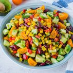 Eat Clean Quick Sweet + Spicy Summer Salad
