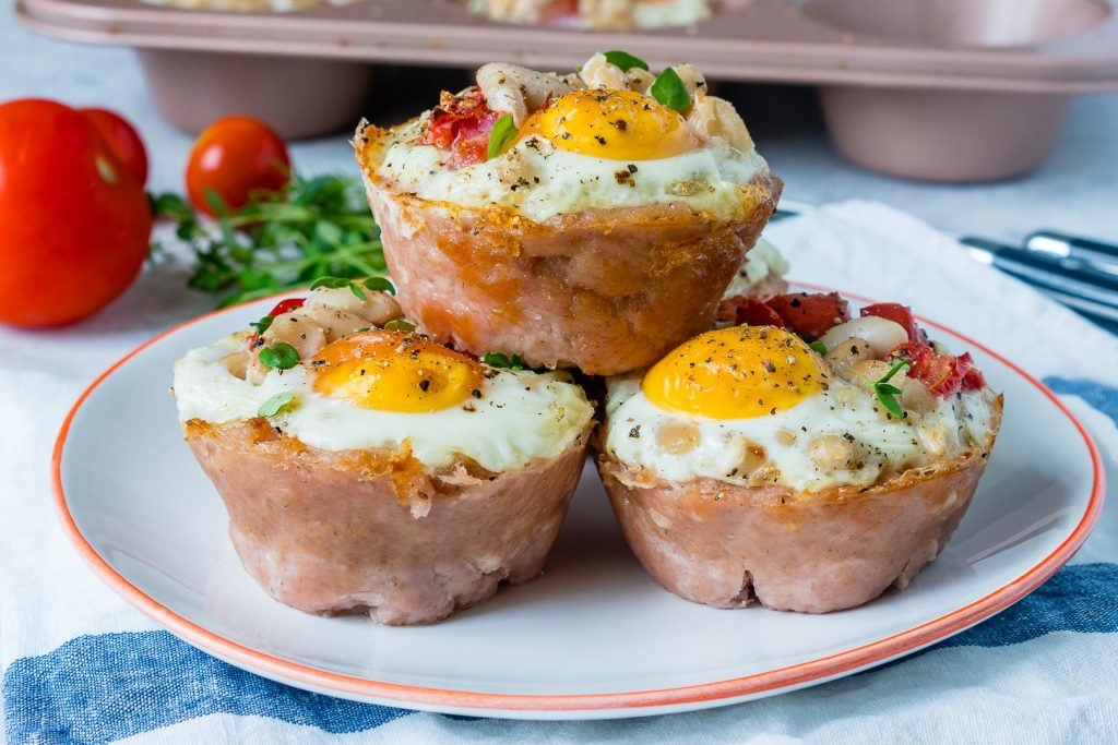 Breakfast Sausage Egg Breakfast Cups