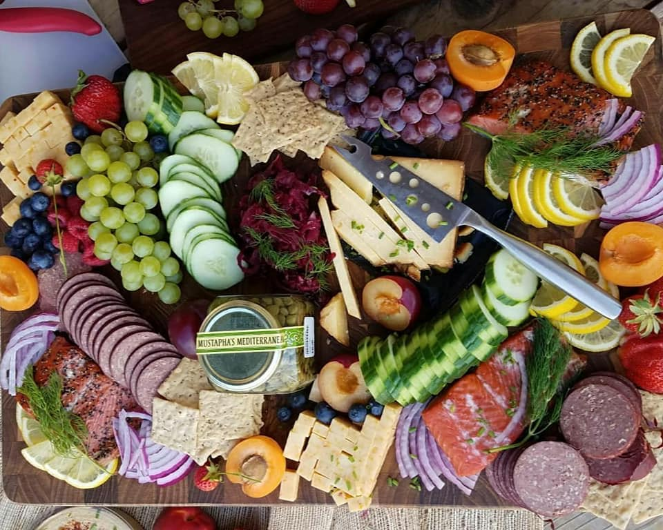 Creative Summertime Picnic Platter Recipe Instructions