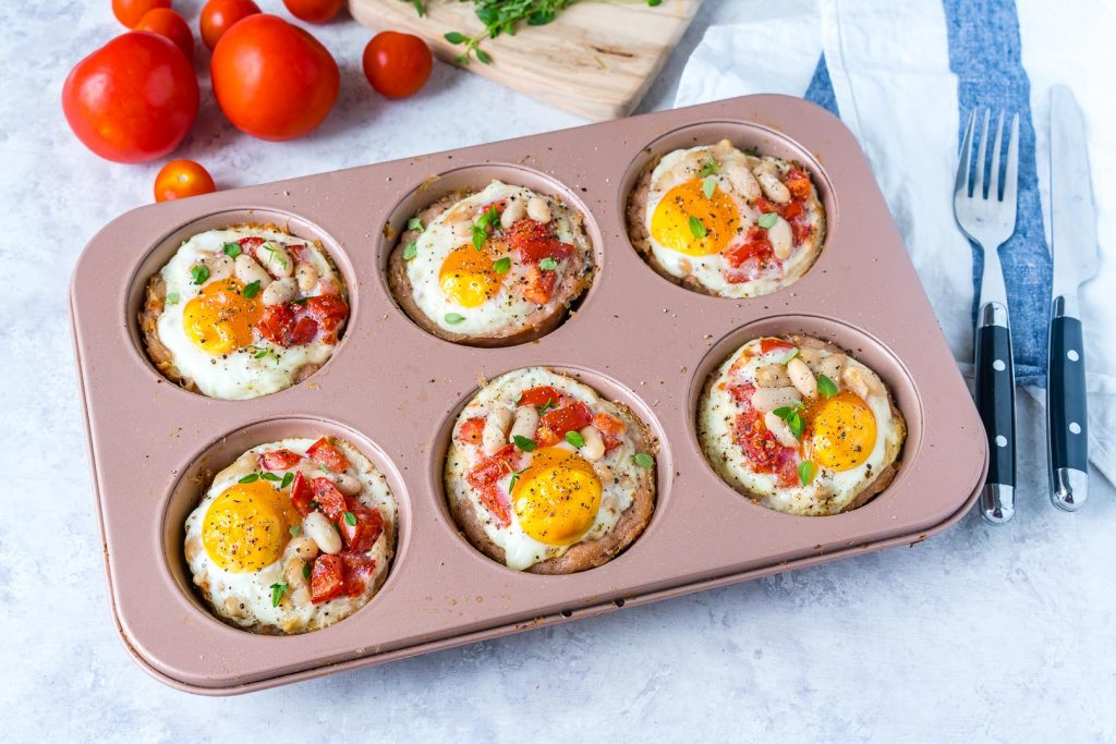 Healthy Sausage Egg Breakfast Cups