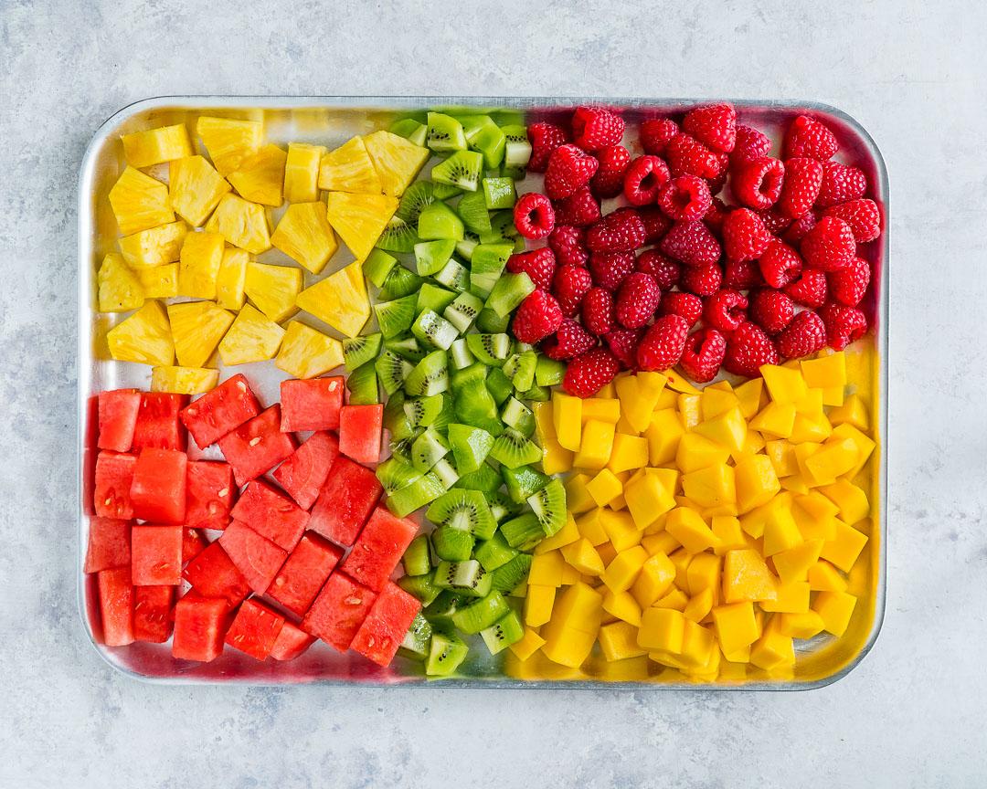 Homemade Fresh Fruit Summer Slushies