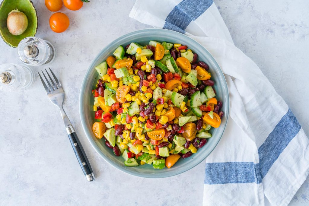 Quick Sweet Spicy Summer Salad Recipe