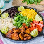 Simple Turkey Burrito Skillet Recipe by CleanFoodCrush
