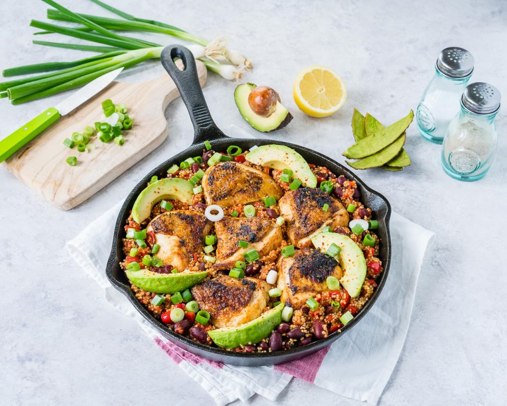 Spicy Mexican Chicken Quinoa Recipe Instructions
