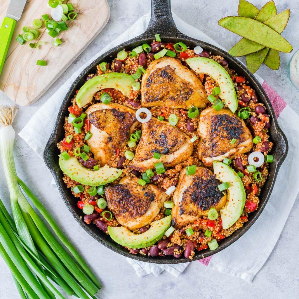 Spicy Mexican Chicken Quinoa