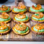 Spicy Shrimp Guacamole Crisps