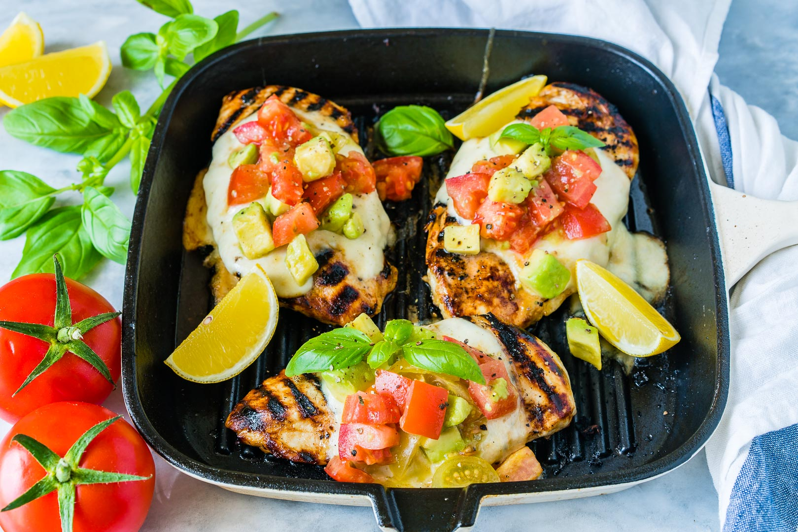 Avocado Salsa Grilled Chicken Recipe