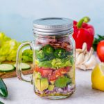 BLT Guacamole Salad-In-a-Jar Recipe