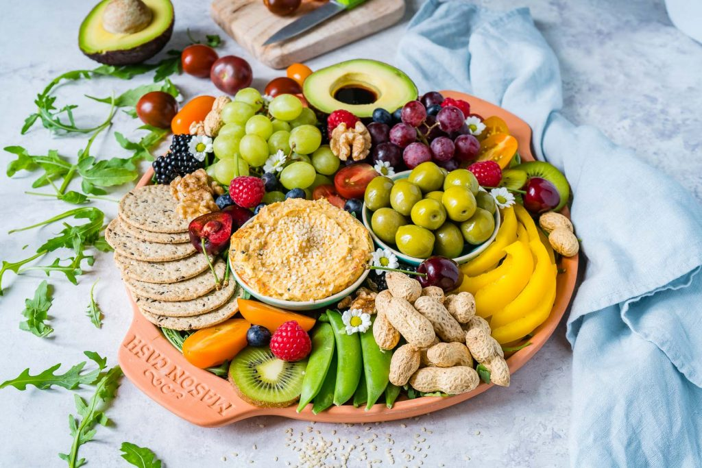 Beautiful Fresh Summertime Party Platter