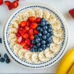Beautiful Triple Berry Banana Oatmeal