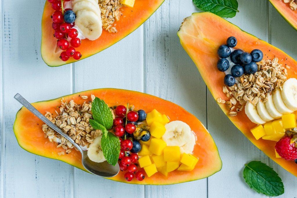 Breakfast Papaya Boats Recipe