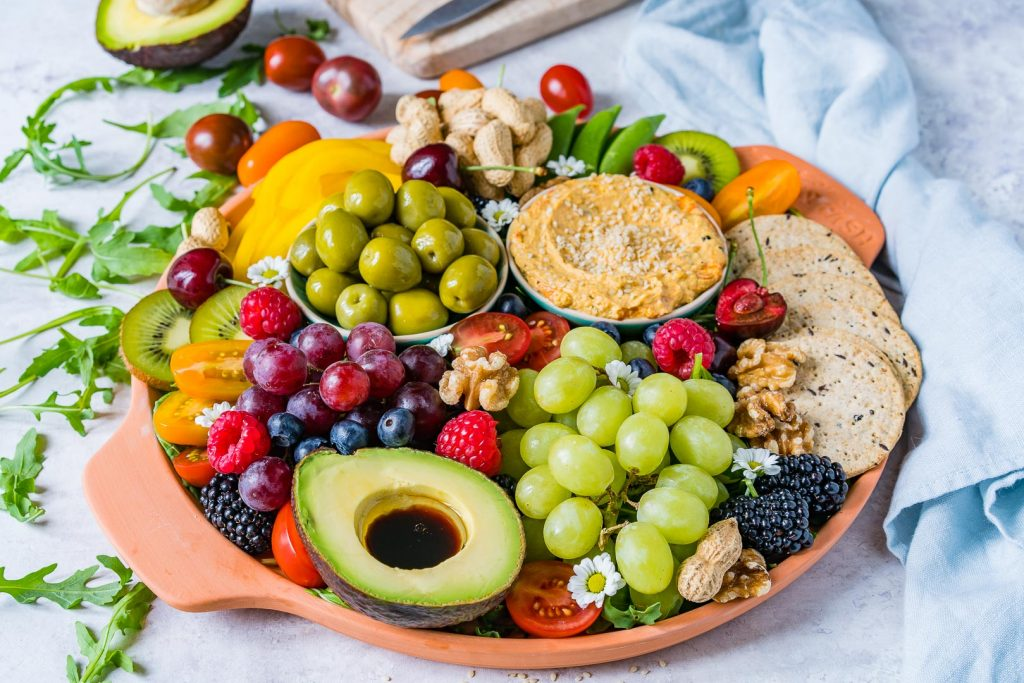 Healthy Summertime Party Platter