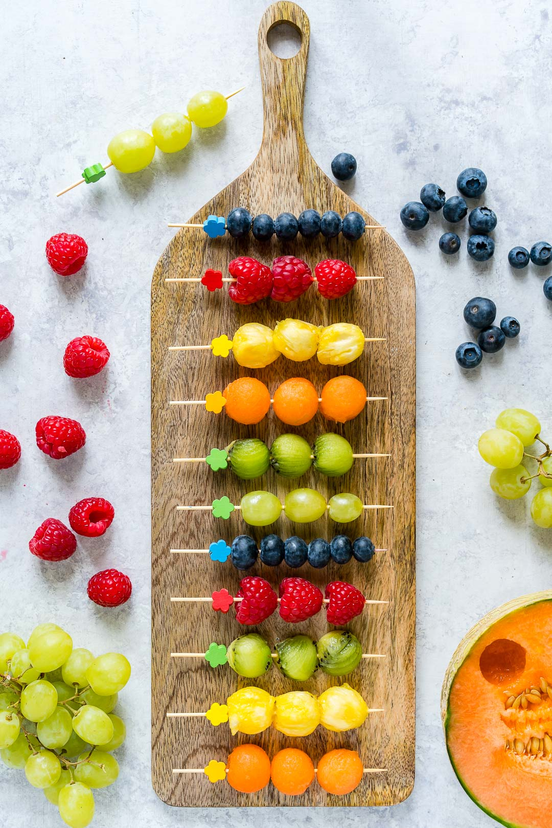 Clean Food  Fruit Kebobs