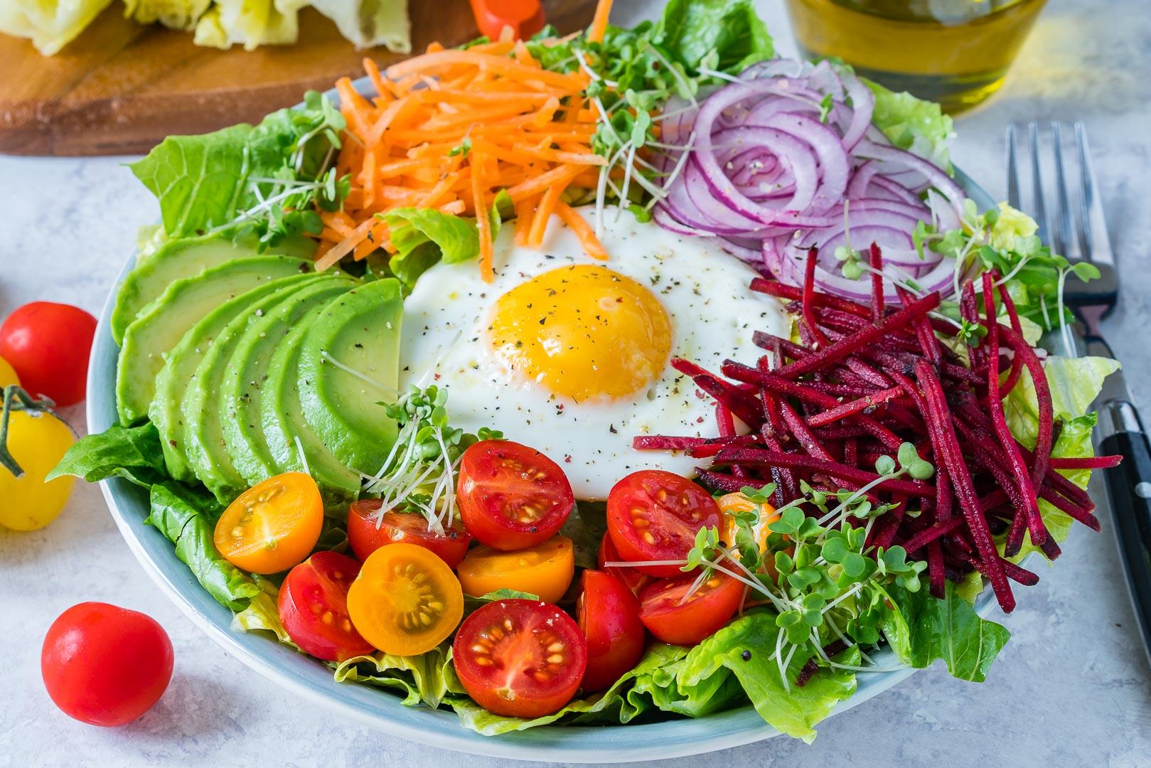 CleanFoodCrush Fresh Summer Eat-The-Rainbow Bowls!