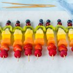CleanFoodCrush Rainbow Fruit Skewers