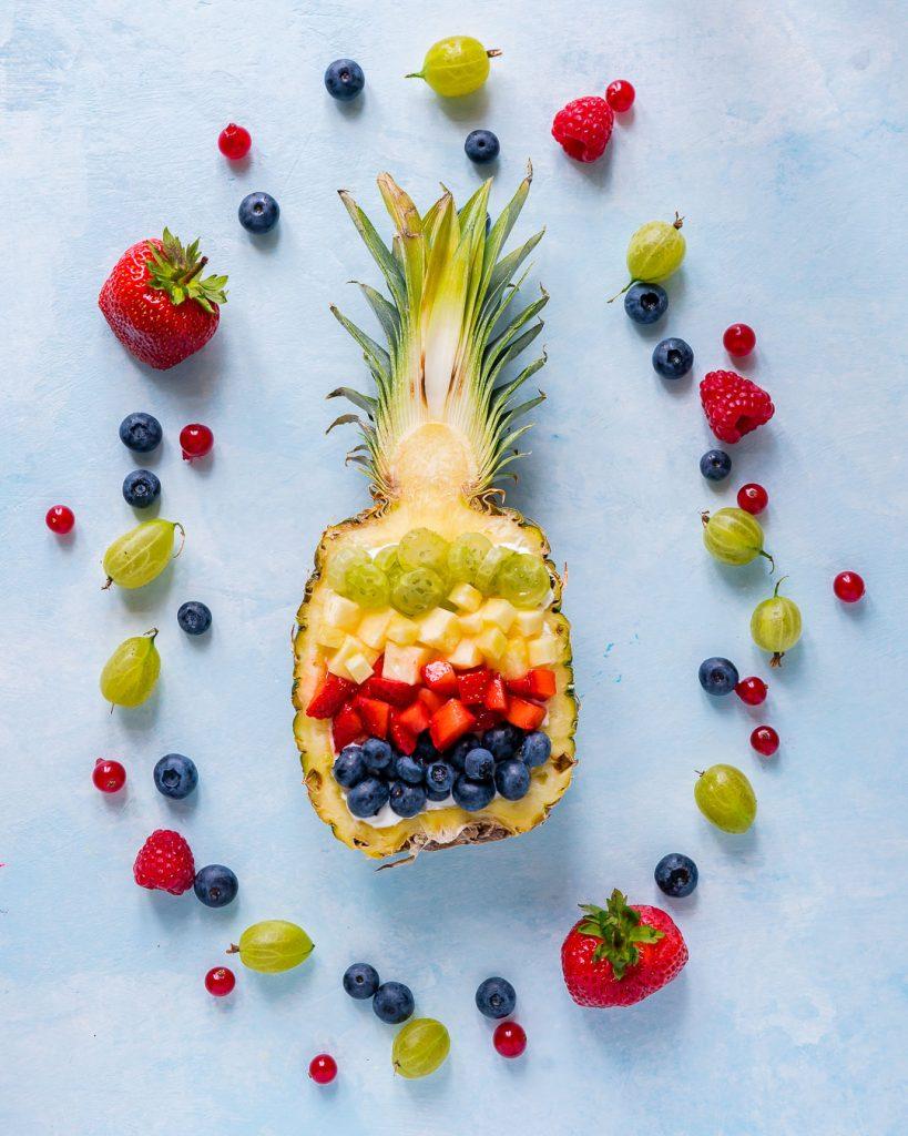 Creative Pineapple Breakfast Bowls