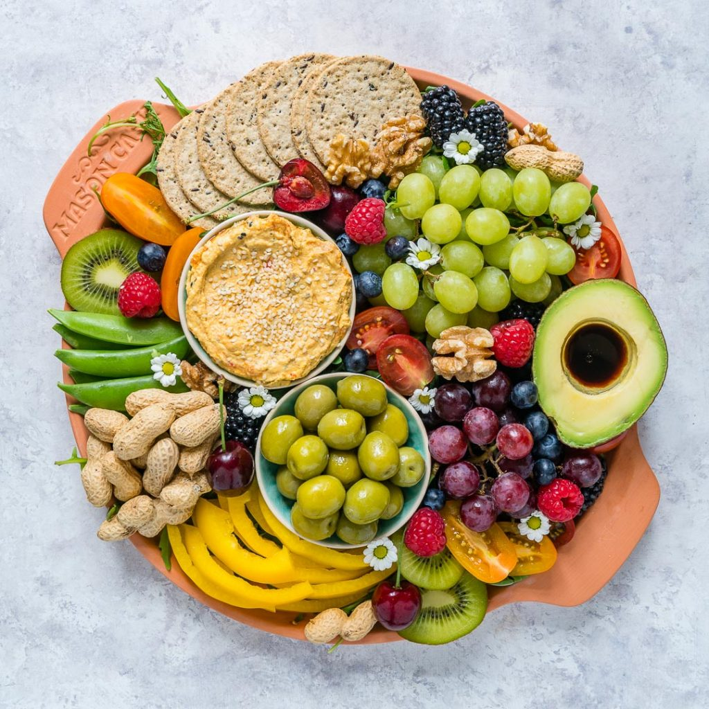 Creative and Fresh Summertime Party Platter