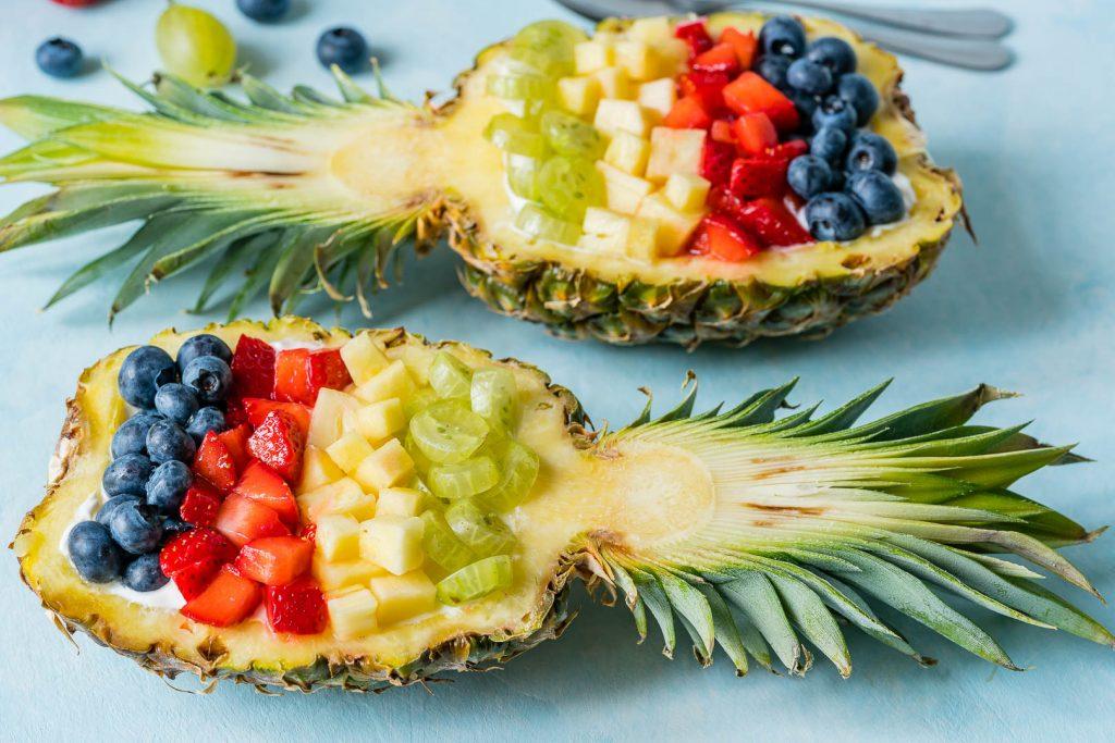 Eat Clean Pineapple Breakfast Bowls Recipe