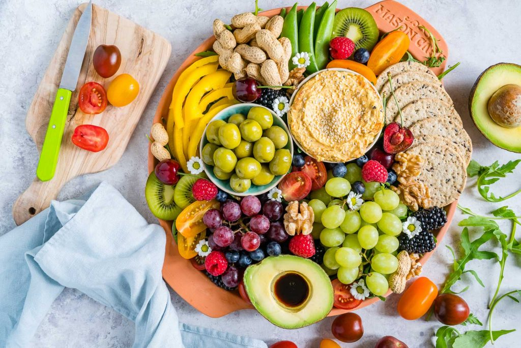 Fresh Summertime Party Platter Recipe