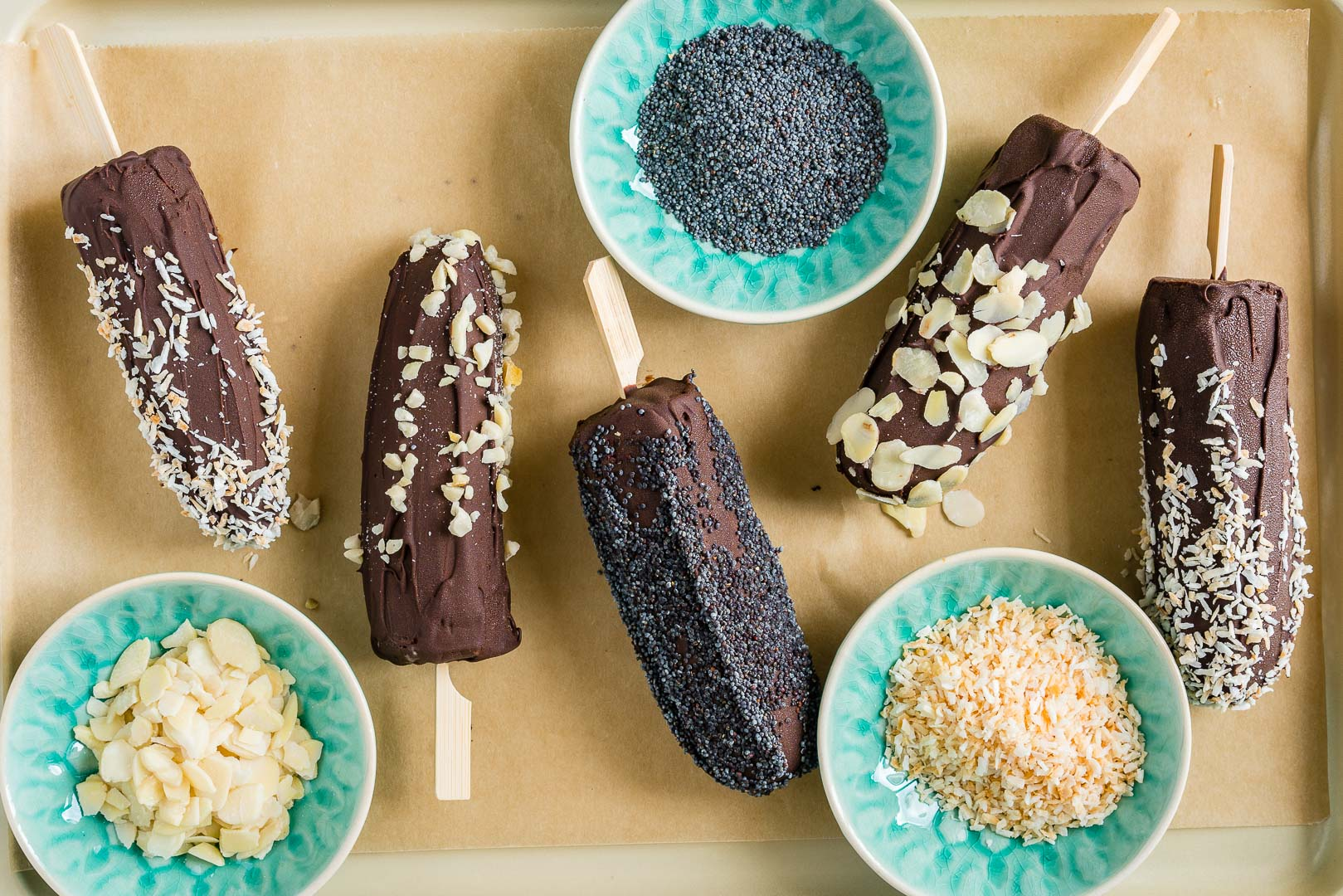 Frozen Banana Pops Ingredients