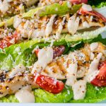 Grilled Chicken Caesar Wraps CleanFoodCrush Recipe