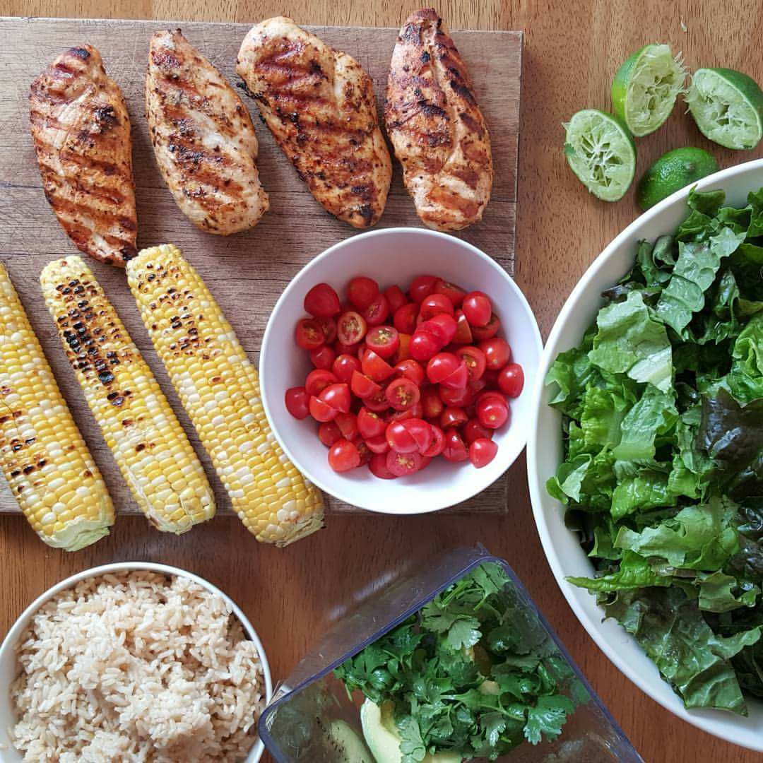 Perfectly Grilled Chicken Breast CleanFoodCrush